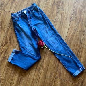 Justice super skinny jeans